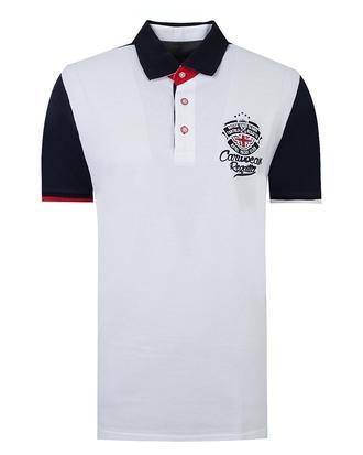 Ds Damat Regular Fit Beyaz Baskılı T-shirt - 8681779307433 | D'S Damat