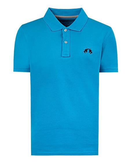 Ds Damat Regular Fit Turkuaz Düz T-shirt - 8681779308317   D'S Damat