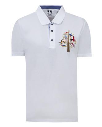 Ds Damat Regular Fit Beyaz T-shirt - 8681779117377 | D'S Damat