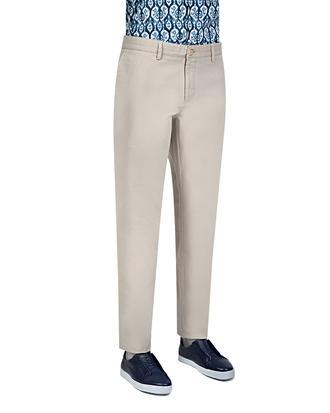 Ds Damat Slim Fit Gri Chino Pantolon - 8681779309093 | D'S Damat