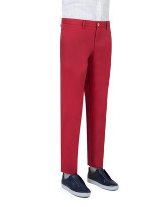 Ds Damat Slim Fit Kırmızı Chino Pantolon - 8681779308867 | D'S Damat