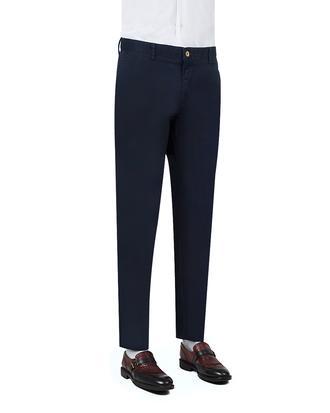 Ds Damat Slim Fit Lacivert Chino Pantolon - 8681779309475 | D'S Damat