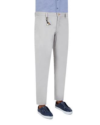 Ds Damat Slim Fit Gri Chino Pantolon - 8681779309567 | D'S Damat