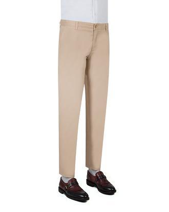 Ds Damat Slim Fit Bej Chino Pantolon - 8681779309666 | D'S Damat