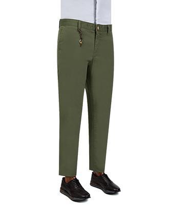 Ds Damat Slim Fit Haki Chino Pantolon - 8681779309437 | D'S Damat