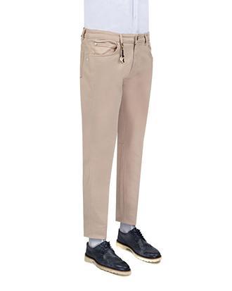 Ds Damat Slim Fit Bej Chino Pantolon - 8681779309703 | D'S Damat