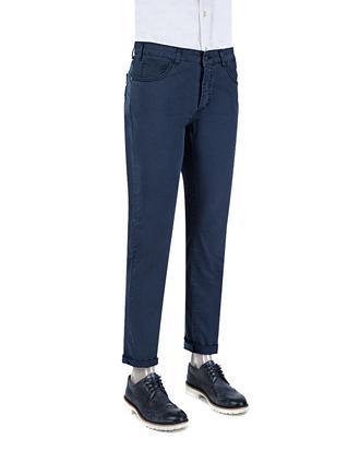 Ds Damat Slim Fit Lacivert Chino Pantolon - 8681779310488 | D'S Damat