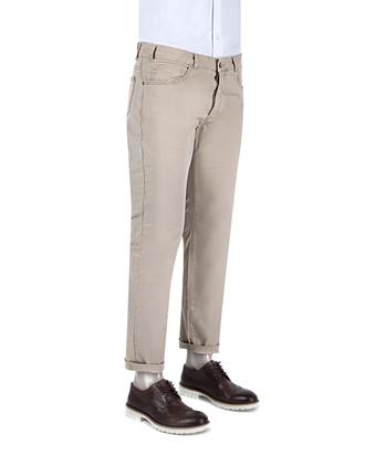 Ds Damat Slim Fit Bej Chino Pantolon - 8681779310686 | D'S Damat