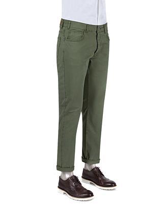 Ds Damat Slim Fit Haki Chino Pantolon - 8681779309970 | D'S Damat