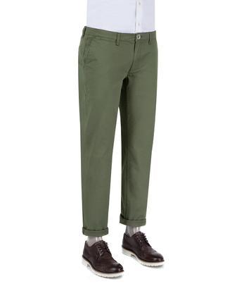 Ds Damat Slim Fit Haki Düz Chino Pantolon - 8681779341314 | D'S Damat