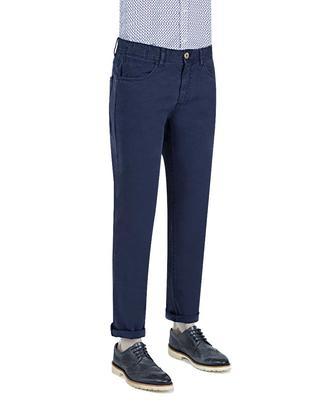 Ds Damat Slim Fit Lacivert Chino Pantolon - 8681779310976 | D'S Damat