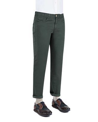 Ds Damat Slim Fit Yeşil Chino Pantolon - 8681779310914 | D'S Damat