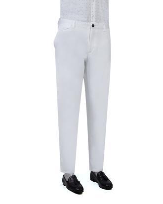 Ds Damat Slim Fit Beyaz Chino Pantolon - 8681779040866 | D'S Damat