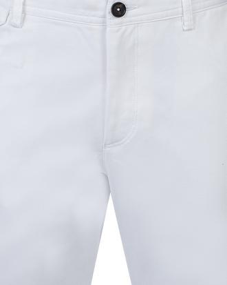 Ds Damat Slim Fit Beyaz Chino Pantolon - 8681778931127 | D'S Damat