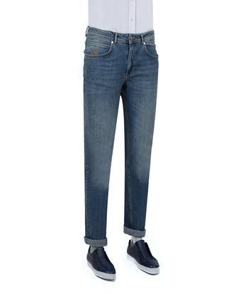 Ds Damat Slim Fit Mavi Denim Pantolon - 8681779143680 | D'S Damat