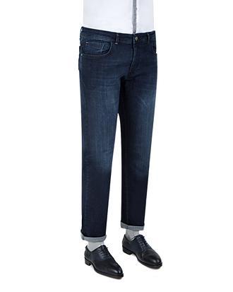 Ds Damat Slim Fit Lacivert Taşlı Denim Pantolon - 8681779479055 | D'S Damat