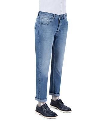 Ds Damat Slim Fit Mavi Denim Pantolon - 8681779346043 | D'S Damat