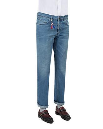 Ds Damat Slim Fit Lacivert Denim Pantolon - 8681779341628 | D'S Damat