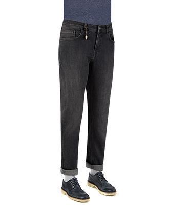 Ds Damat Slim Fit Antrasit Denim Pantolon - 8681779312079 | D'S Damat