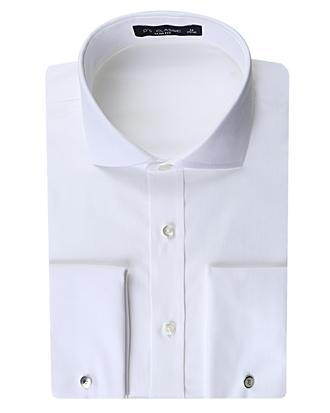 Ds Damat Slim Fit Beyaz Düz Gömlek - 8681779990208 | D'S Damat