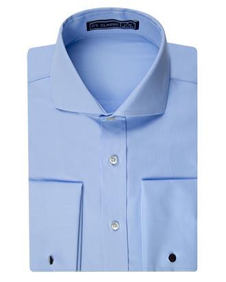 Ds Damat Slim Fit Mavi Düz Gomlek - 8682060149985 | D'S Damat