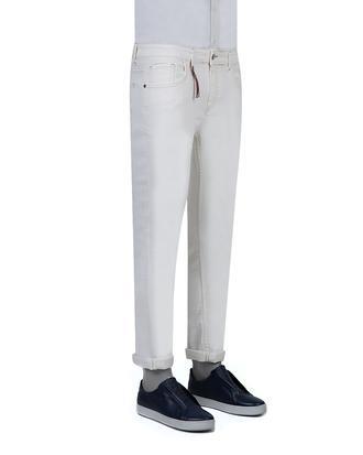 Twn Super Slim Fit Beyaz Düz Denim Pantolon - 8682060398819 | D'S Damat