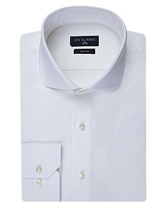 Ds Damat Slim Fit Beyaz Gömlek - 8681779316190   D'S Damat