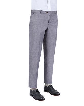 Ds Damat Slim Fit Bordo Düz Kumaş Pantolon - 8681778947074 | D'S Damat