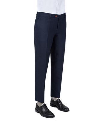 Ds Damat Slim Fit Lacivert Kumaş Pantolon - 8681779334101 | D'S Damat