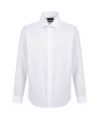 Ds Damat Regular Fit Beyaz Armürlü Gomlek - 8681779776239 | D'S Damat