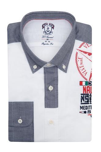 Ds Damat Regular Fit Beyaz Gömlek - 8681494935249   D'S Damat