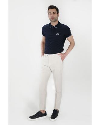 Twn Slim Fit Bej Kumaş Pantolon - 8681779385677 | D'S Damat