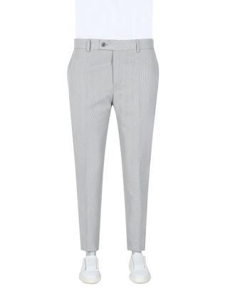 Twn Slim Fit Gri Kumaş Pantolon - 8681778903209   D'S Damat