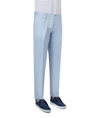 Twn Slim Fit Mavi Kumaş Pantolon - 8681779339151 | D'S Damat