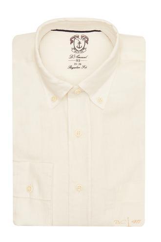 Ds Damat Regular Fit Beyaz Gömlek - 8681779109853 | D'S Damat