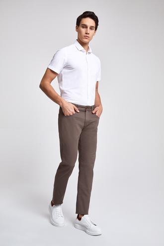 Twn Slim Fit Vizon Armürlü Pantolon - 8681779808022 | D'S Damat