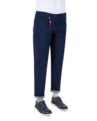 Ds Damat Lacivert Düz Denim Pantolon - 8682060367136 | D'S Damat