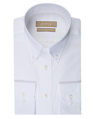 Damat Comfort Beyaz Desenli Gömlek - 8681649688419 | Damat Tween