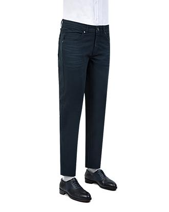 Tween Super Slim Fit Lacivert Düz Chino Pantolon - 8681649695509 | Damat Tween