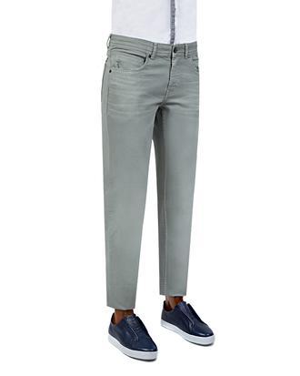 Tween Super Slim Fit Gri Düz Chino Pantolon - 8681649695561   Damat Tween