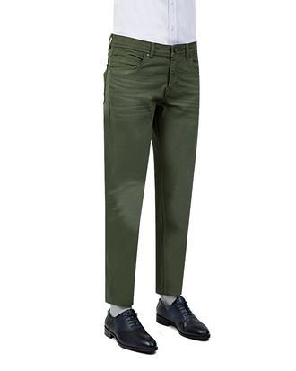Tween Super Slim Fit Haki Düz Chino Pantolon - 8681649150183 | Damat Tween