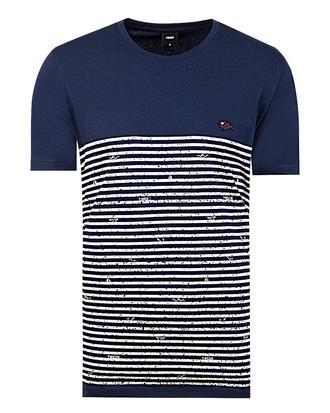 Tween Lacivert Baskılı T-shirt - 8681649726159 | Damat Tween