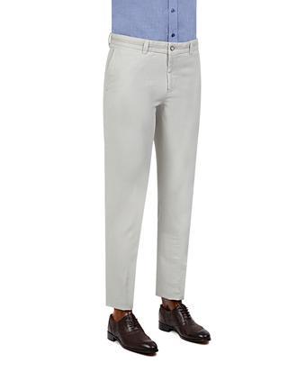 Tween Super Slim Fit Bej Desenli Chino Pantolon - 8681649031536   Damat Tween