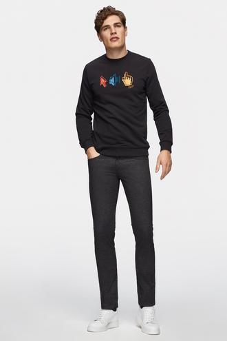 Tween Super Slim Fit Antrasit Chino Pantolon - 8681649677185 | Damat Tween