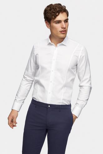 Tween Slim Fit Beyaz Gömlek - 8681649715832 | Damat Tween