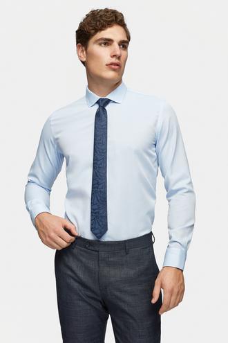 Tween Slim Fit Mavi Gömlek - 8681649750116   Damat Tween