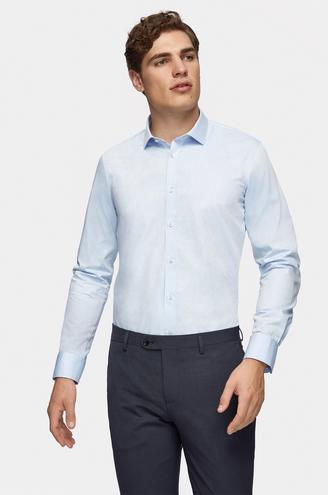 Tween Slim Fit Mavi Gömlek - 8681649763659   Damat Tween