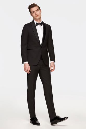 Damat Slim Fit Slim  Fit Siyah Takim Elbise - 8681649815082   D'S Damat
