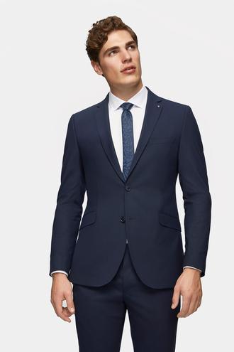Tween Slim Fit Lacivert Düz Takım Elbise - 8682364727322 | Damat Tween