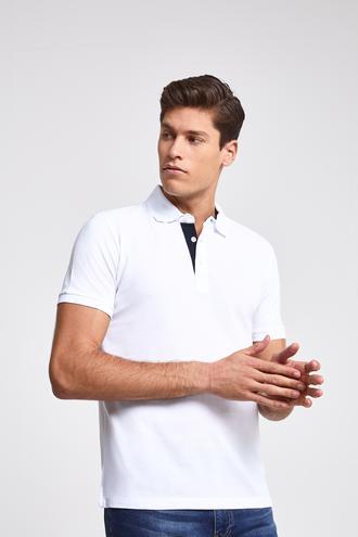 Ds Damat Regular Fit Beyaz T-Shirt - 8682060091000 | D'S Damat